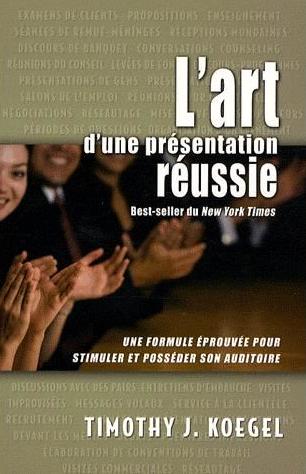L'Art d'une présentation réussie Couverture du livre