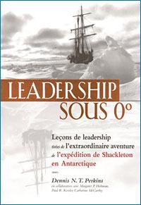 Leadership sous 0° Couverture du livre