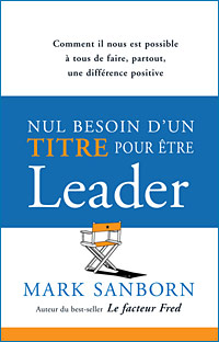 Nul besoin d'un titre pour être leader Couverture du livre